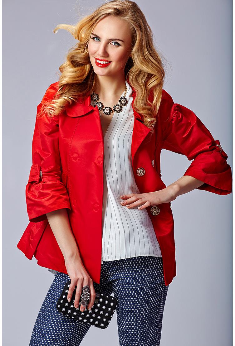 Красная женская ветровка Foce фото