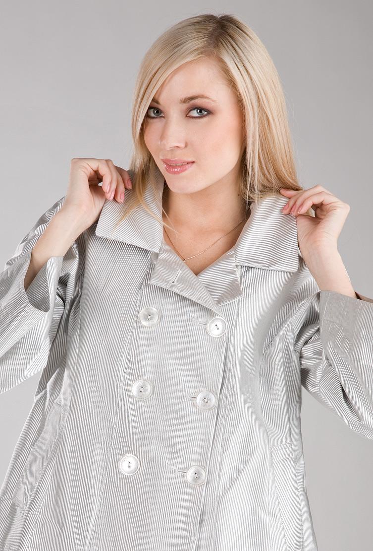 Женская ветровка Foce серебристого цвета HOLLIS/F17-серый