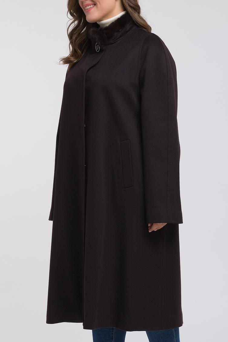 Коричневое пальто Heresis прямого кроя на большой размерПальто<br>Коричневое пальто Heresis прямого кроя на большой размер<br>Цвет: коричневый; Размер: 48, 50, 52, 54, 56, 58, 60, 62, 64, 66; Состав: 100% шерсть Loro Piana, подкладка - 100% вискоза, меховая отделка - норка; Материал: 100% шерсть Loro Piana, подкладка - 100% вискоза, меховая отделка - норка;