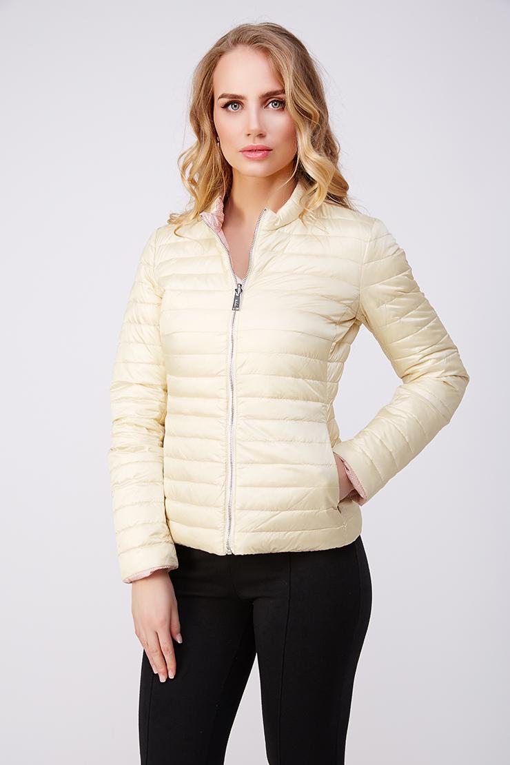 Двусторонняя пуховая куртка ADD цвета слоновой кости. Производитель: ADD, артикул: 20956