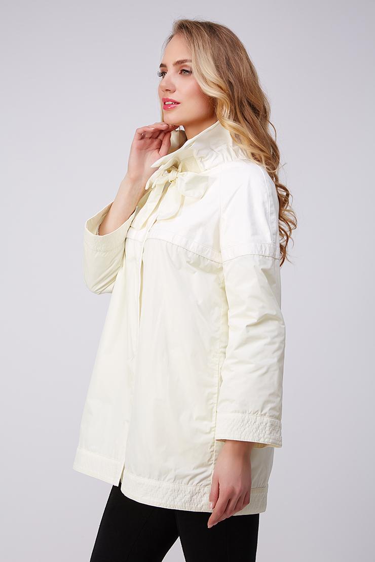 Оригинальная белая куртка AFG из натуральной кожи. Производитель: AFG, артикул: 21007