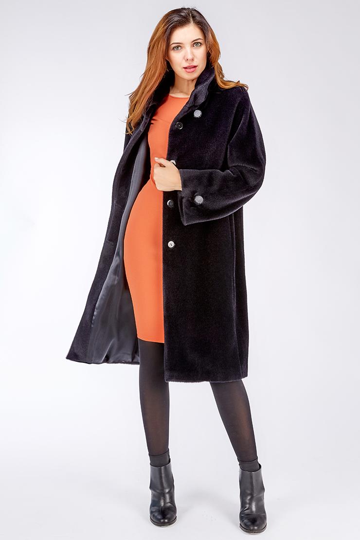 Женское пальто на осень из альпака российского производстваПальто<br>Женское пальто на осень из альпака российского производства<br>Цвет: синий; Размер: 42, 44, 46, 48, 50, 52, 54; Состав: 75% Suri alpaca (сури альпака) 25% шерсть;  подкладка - 100% вискоза;; Материал: 75% Suri alpaca (сури альпака) 25% шерсть;  подкладка - 100% вискоза;;