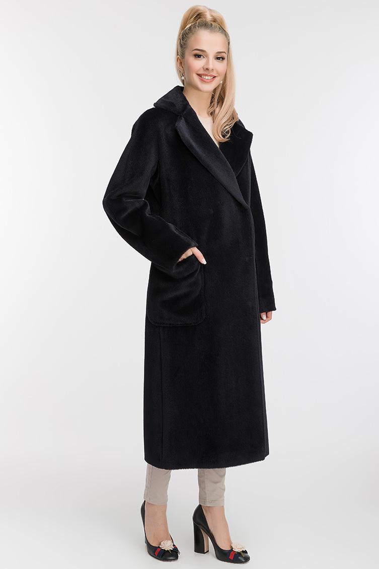 Осеннее прямое пальто с английским воротником фото