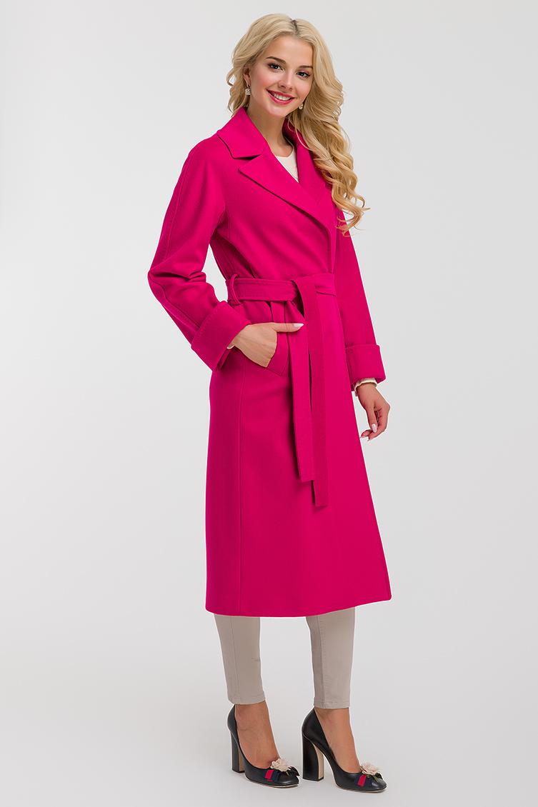 Длинное итальянское женское пальто на запахеПальто<br>Длинное итальянское женское пальто на запахе<br>Цвет: красный; Размер: 40, 42, 44, 46, 48, 50; Состав: 100% шерсть Loro Piana SF; подкладка 100% вискоза; Материал: 100% шерсть Loro Piana SF; подкладка 100% вискоза;