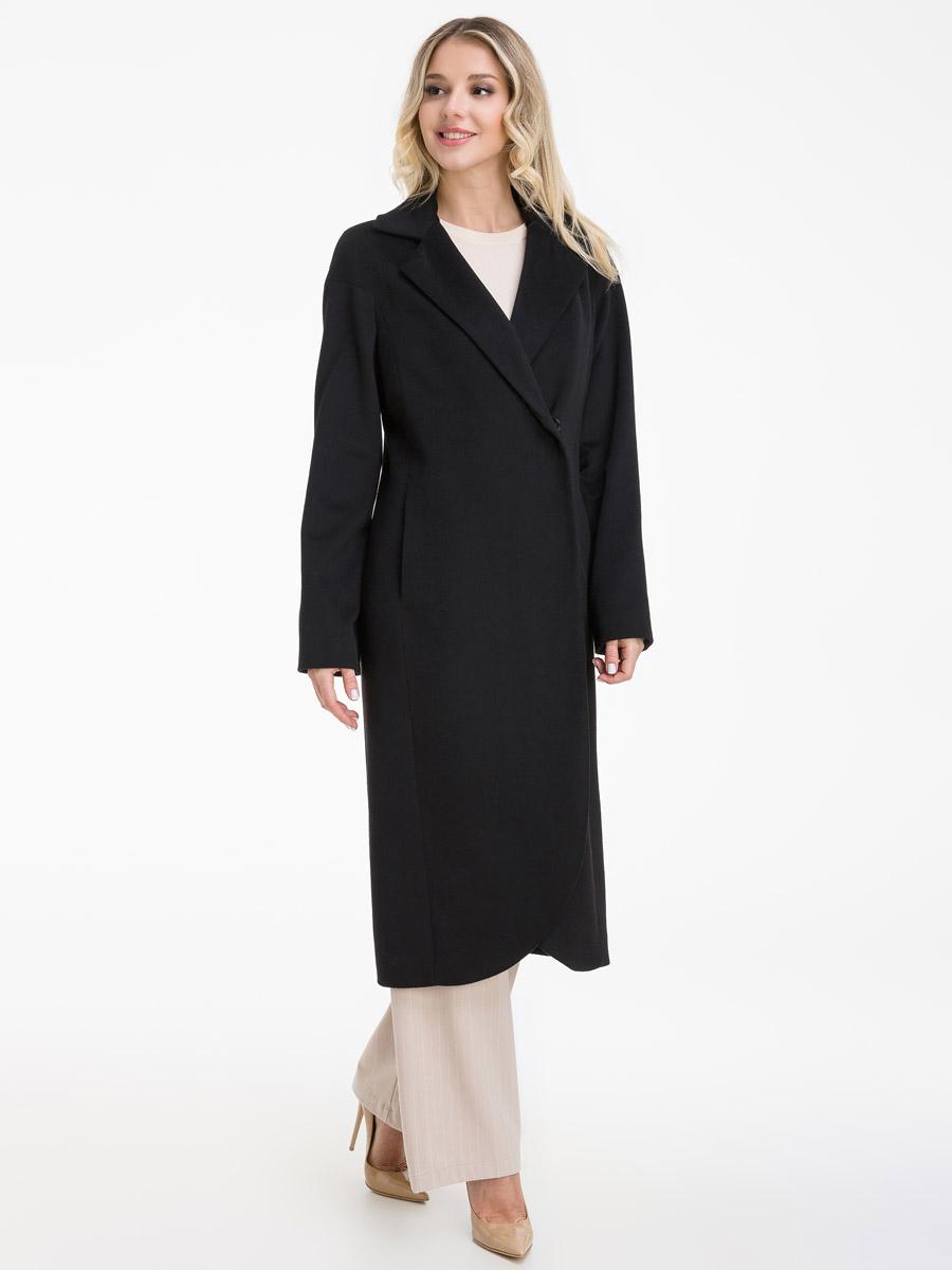 Классическое шерстяное пальто на осень фото