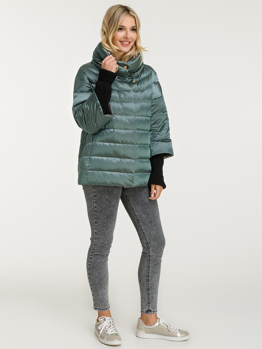 Модный женский пуховик на осень-зиму фото
