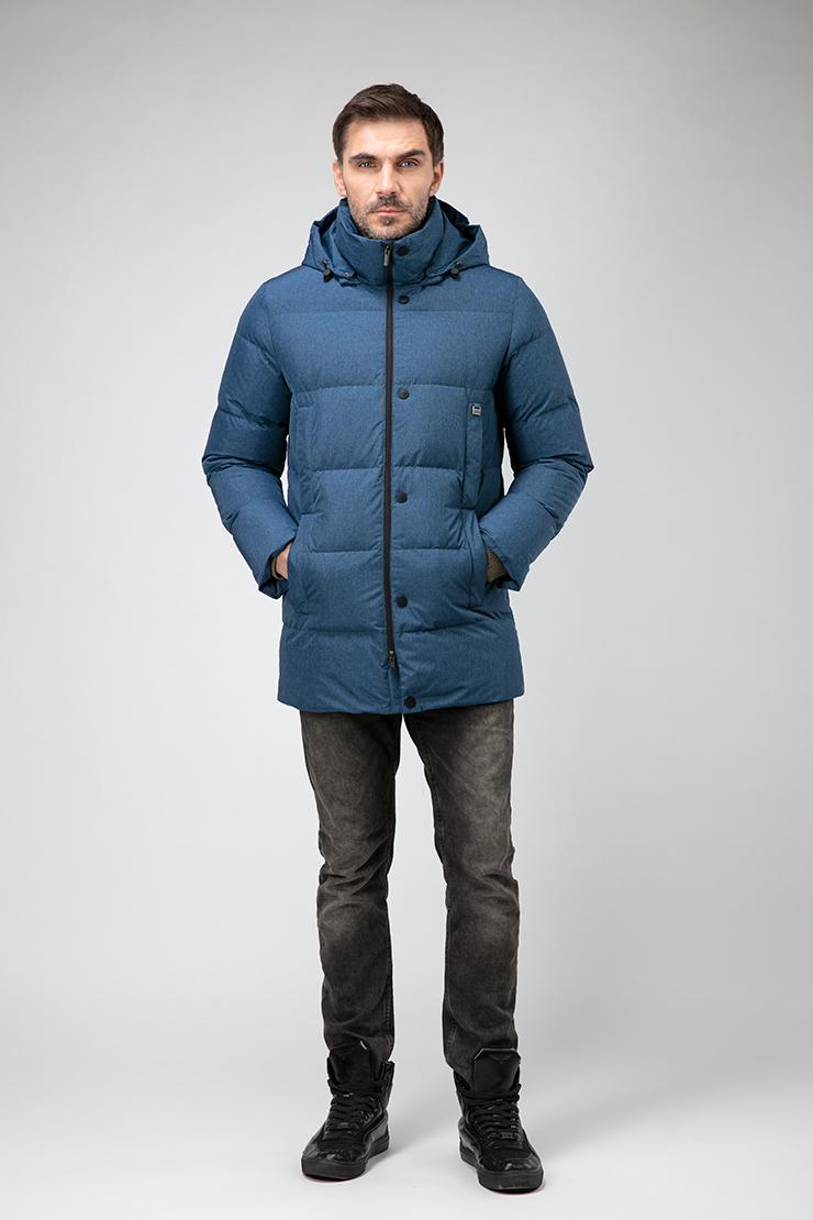 Модный финский пуховик для мужчин на зиму Joutsen