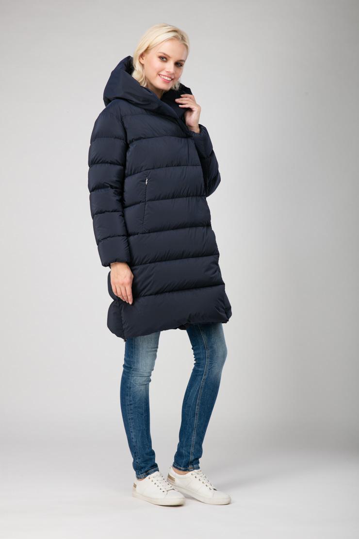 Модный легкий итальянский пуховик ADD на зиму