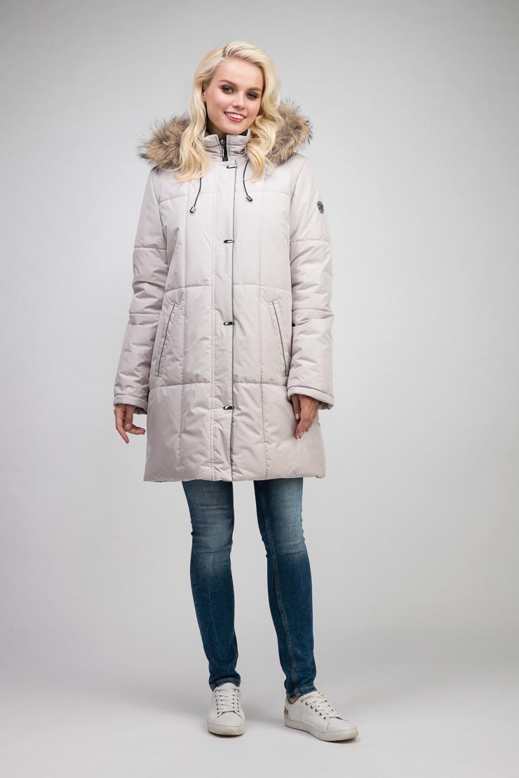 Женское болоневое демисезонное пальто трапеция с мехомПальто<br>Женское болоневое демисезонное пальто трапеция с мехом<br>Цвет: слон кость; Размер: 48, 50; Состав: 100% п/э; подкладка - 100% п/э; утеплитель - изософт; Материал: 100% п/э; подкладка - 100% п/э; утеплитель - изософт;