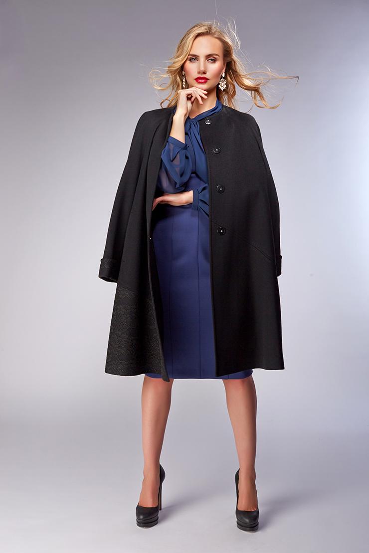Итальянское женское пальто-реглан без мехаПальто<br>Итальянское женское пальто-реглан без меха<br>Цвет: черный; Размер: 44, 48, 52; Состав: 100% шерсть Piacenza, подкладка 100% вискоза; Материал: 100% шерсть Piacenza, подкладка 100% вискоза;