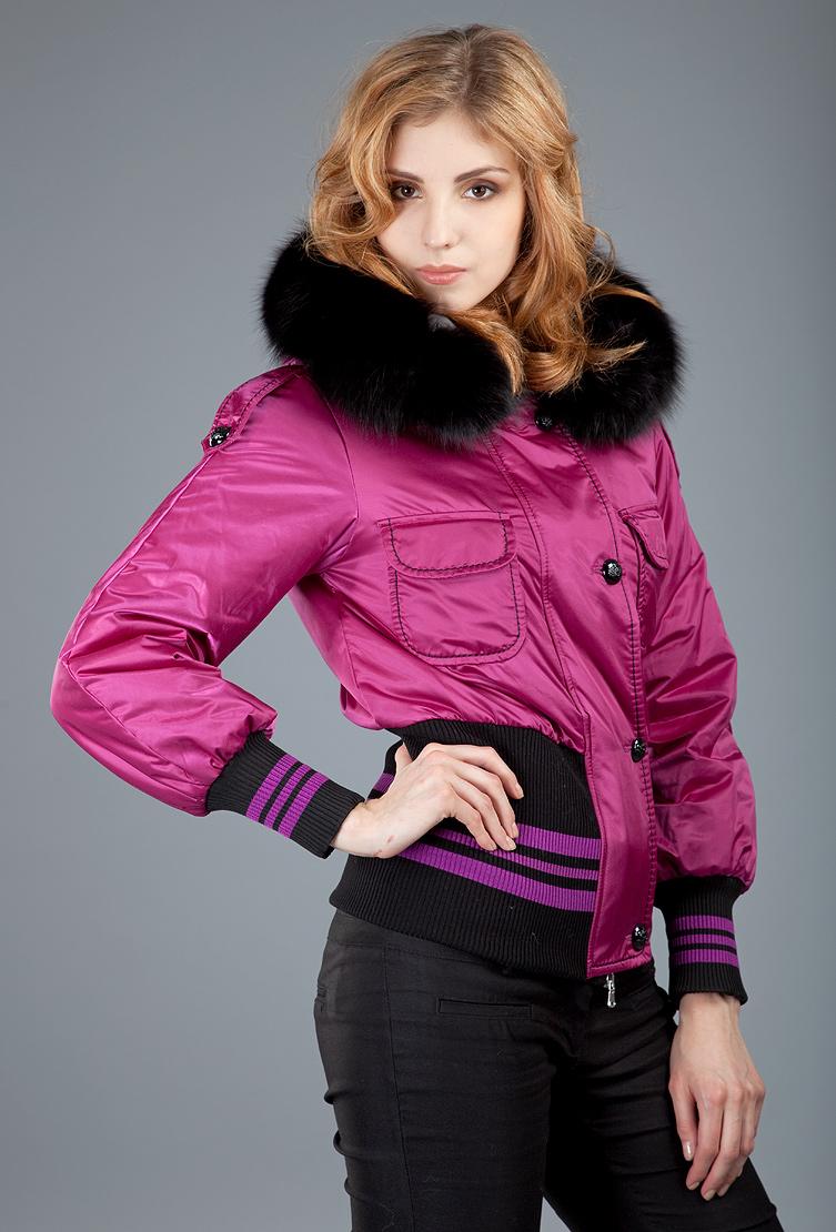Женская молодежная куртка Foce цвета фуксии ROSALBA/F43-розовый