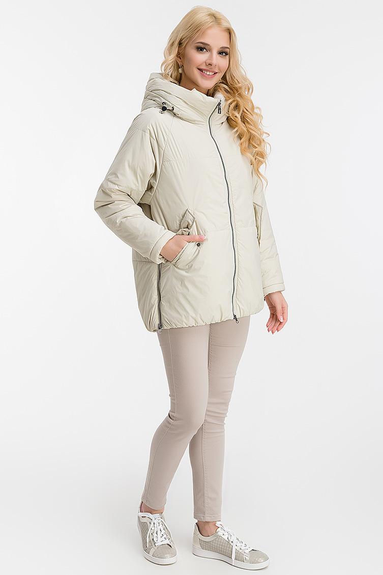Женская куртка средней длины без меха фото