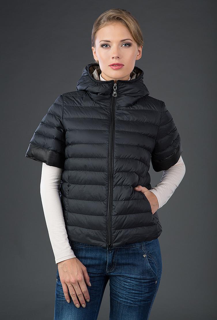 Осенняя пуховая куртка с коротким рукавом. Производитель: AFG, артикул: 13104