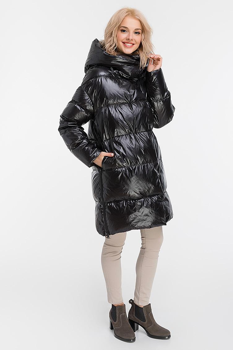 Женский модный пуховик для зимы ADD фото