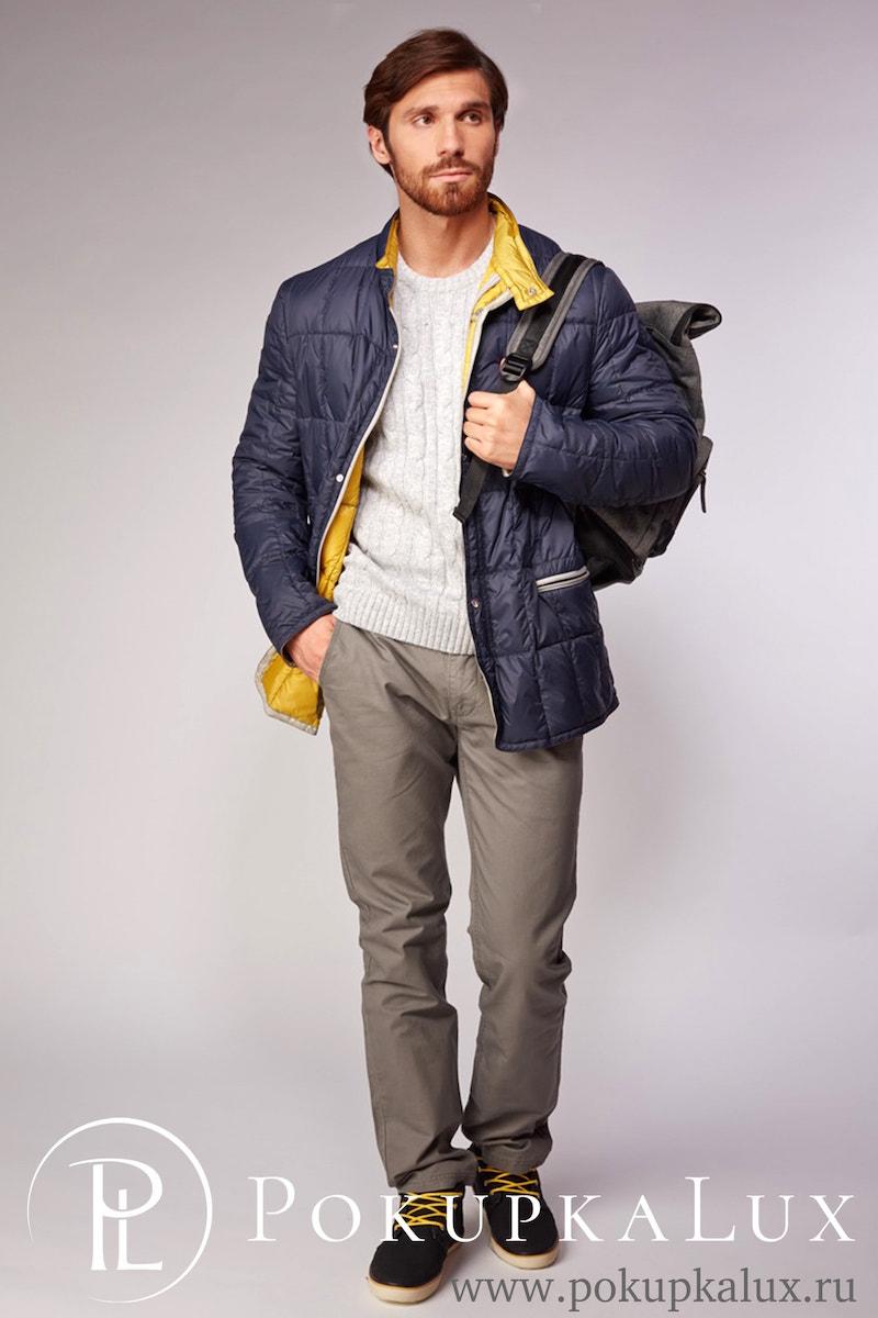 7caabf7b853 Стеганая мужская куртка на пуху