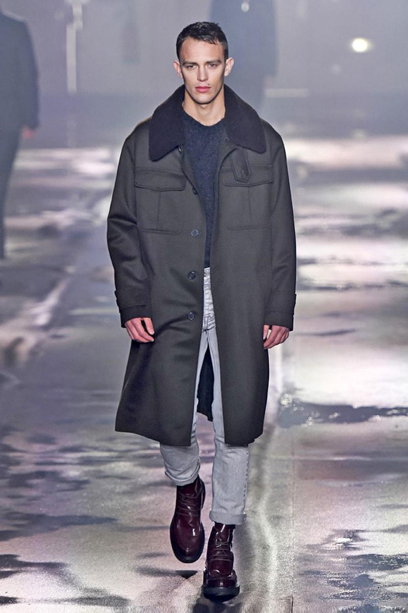 Практичное пальто в стиле оверсайз из коллекции AMI