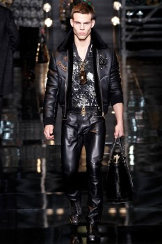 aefae8f4a0a1 ... Мужская куртка осень-зима 2014-2015 с вышивкой Versace