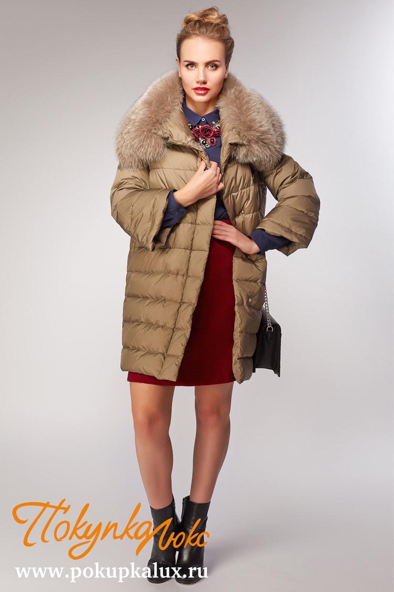 Пуховики женские с мехом из Италии в интернет магазине. Купить ... b03853b6b585d