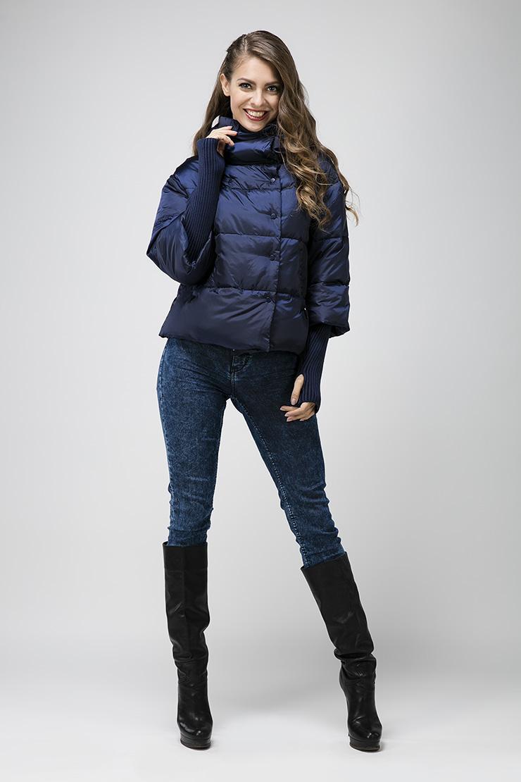 41c3457681e85 Короткая куртка-пуховик без меха 264M/Y3 - синий