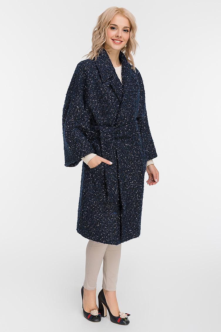 3f38408bc2d Женское пальто букле с вискозной подкладкой