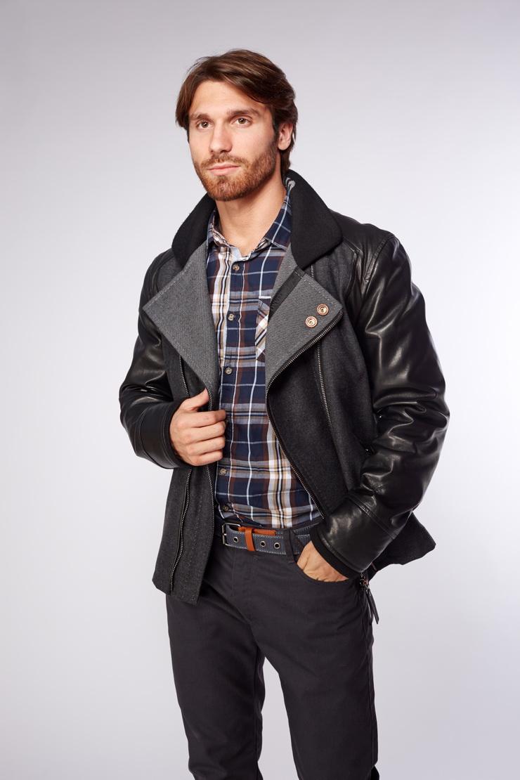 114f9153a88 Мужские кожаные куртки весна 2018