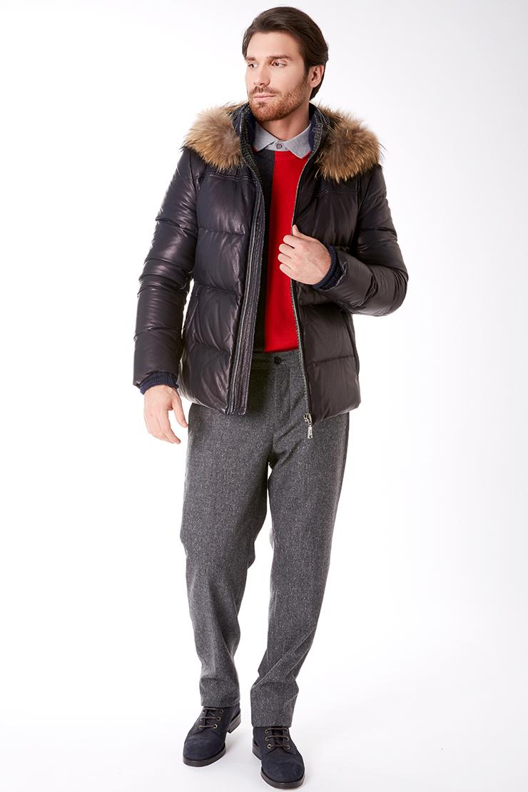 277aee8d43c Мужские кожаные куртки осень-зима 2017-2018. Фото новинок с показов ...