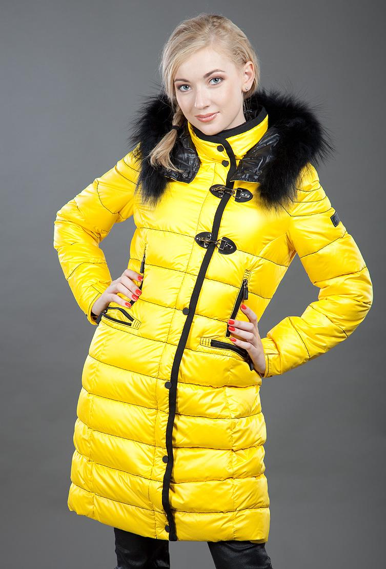 кожаный женский пуховик яркого цвета фото искусству макраме