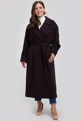8fe193787d3 Классическое шерстяное пальто для больших размеров из Италии