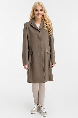 755e97b6123 Купить приталенное женское пальто в интернет магазине ПокупкаЛюкс