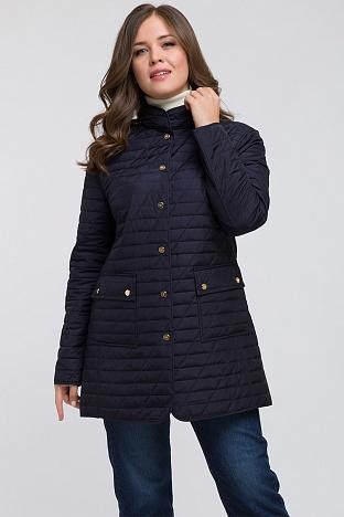 a7c396991f8bfce Длинная полуприталенная куртка для большого размера. 48. В наличии